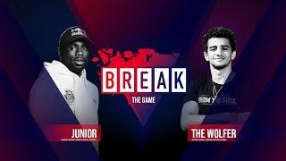B-Boy Junior vs. B-Boy The Wolfer BREAK THE GAME