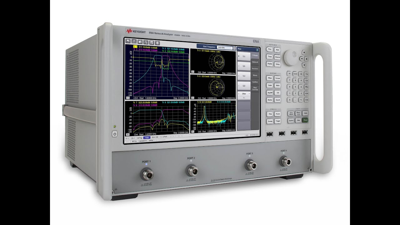 Keysight Network Analyzer : Introducing keysight e a ena vector network analyzer