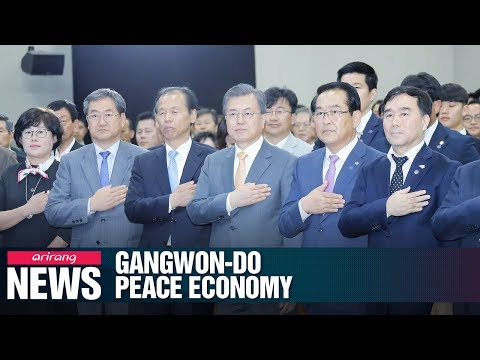 Gangwon-do Province to become symbol of peace on Korean Peninsula: Pres. Moon