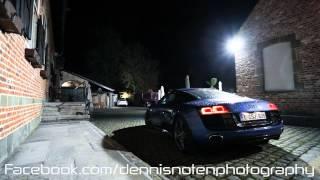 Audi R8 V10 Startup and revving - REV limiter!