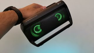 @Lgus Xboom Go PK5 Portable Bluetooth Speaker With AptX HD Meridian Technology, IPX5 (2018)