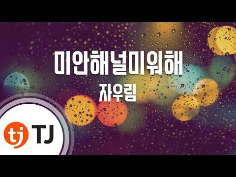 [TJ노래방] 미안해널미워해 - 자우림 (Jaurim) / TJ Karaoke