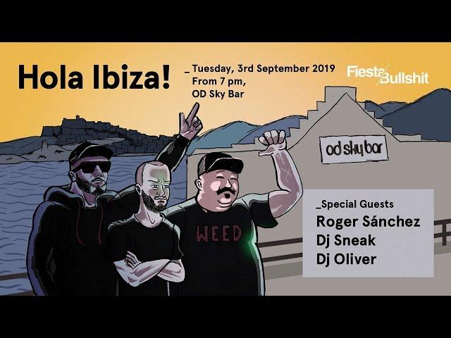 Live Set_ DJ Sneak @ Hola Ibiza 03.09.2019