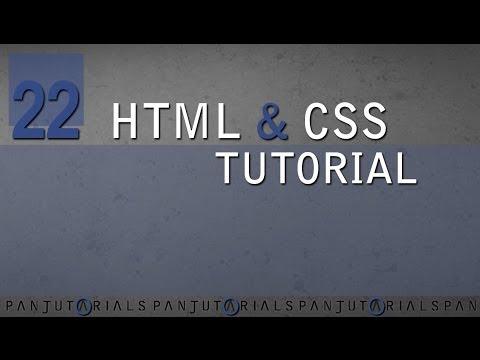 HTML & CSS Tutorial Für Anfänger 22 -- Div