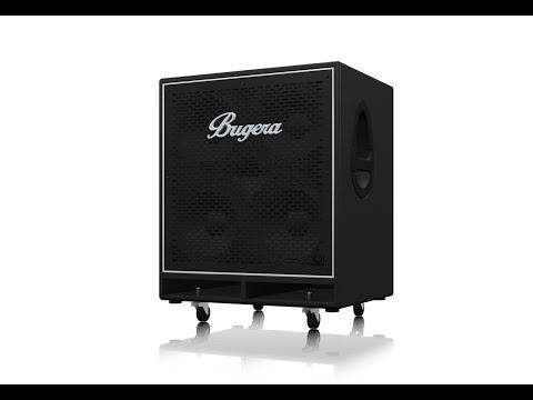 BN410TS High-Performance, Lightweight 2,800-Watt Bass Cabinet with 4 x 10'' TURBOSOUND Speakers