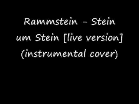 Rammstein - Stein um Stein [live version] (instrumental cover)