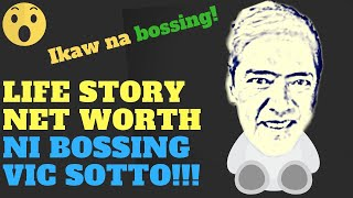 VIC SOTTO NET WORTH! LIFE STORY AT LUXURY LIFESTYLE MGA DABARKADS!!!