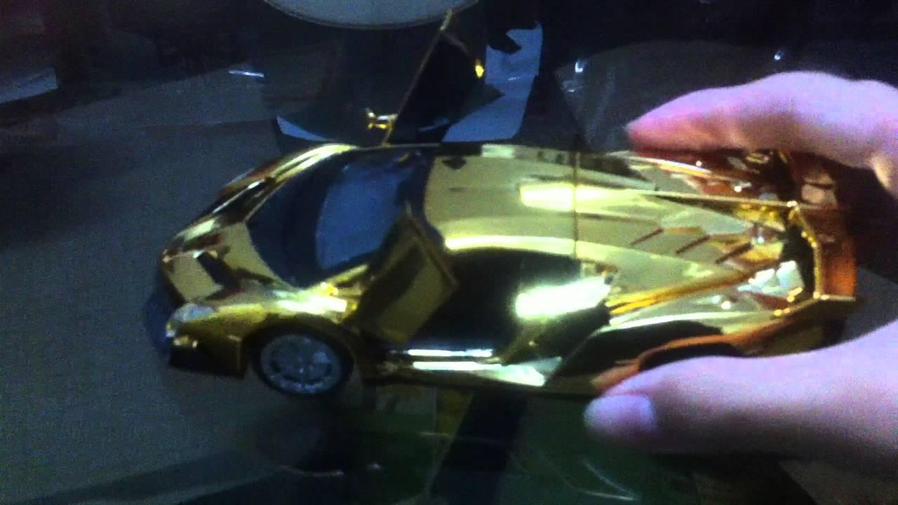 My Lamborghini Veneno Gold Edition Youtube