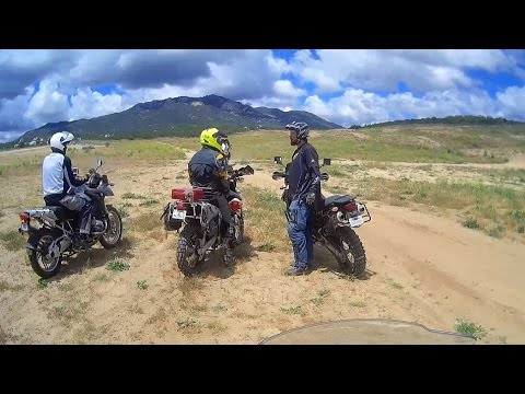 Motoventures Adventure Riding Training on my BMW R1200GS Adventure