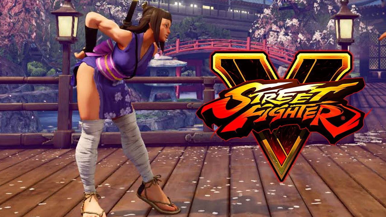 street fighter v sf5 ibuki alternate costume and new stages youtube