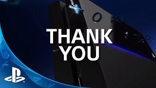 PlayStation Thanks Developers & Fans