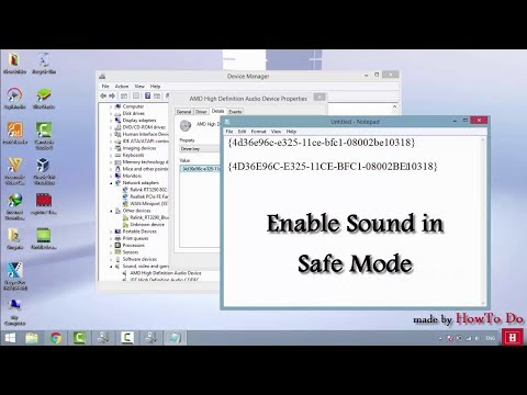 How to Enable Sound in Safe Mode (Windows 10/ Windows 8/ Windows 7)