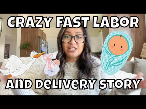POSITIVE BIRTH EXPERIENCE | EXTREMELY FAST LABOR AND DELIVERY | LABOR AND DELIVERY STORY