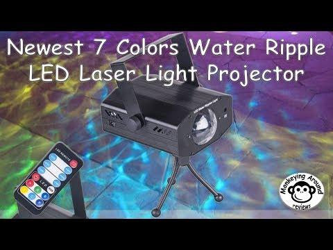 Projecteur led star shower slide show une maison d co doovi for M6 boutique projecteur laser