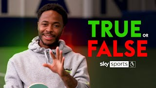 Does Sterling run like a T-Rex? 🦖 | TRUE or FALSE with Raheem Sterling