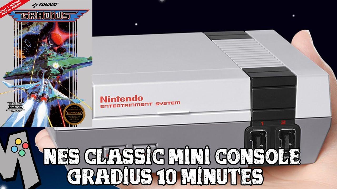 [NES Classic Mini] Gradius - First 10 minutes