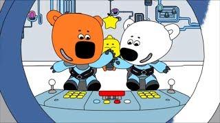 Раскраска Ми-ми-мишки  - Путешествие к звёздам - выпуск 22 - развивающие мультики для малышей