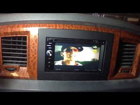 2006-2008 Dodge Ram Double Din Installed. Bluetooth Touchscreen