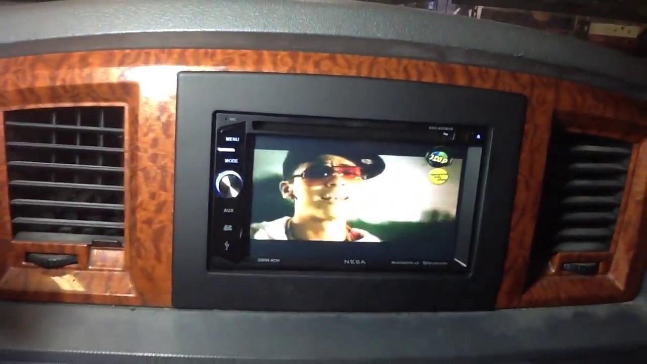 2008 dodge ram radio installation kit
