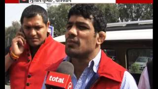 Wrestler Sushil Kumar meets Delhi deputy CM Manish Sisodia