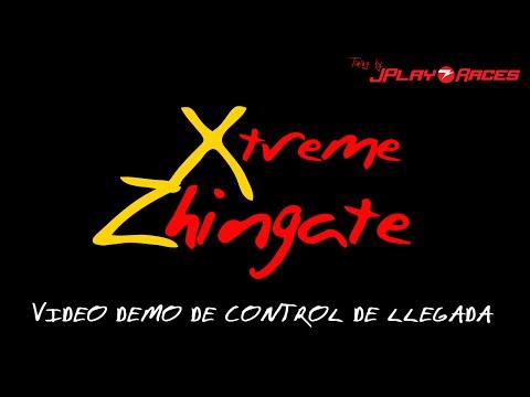 Xtreme Zhingate: Video DEMO de Control de llegada