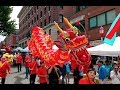 Dragon Fest Seattle 2017 Lion Dance Dragons March