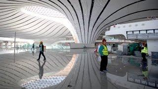 Peking-Daxing: Mega-Flughafen beginnt mit Testbetrieb