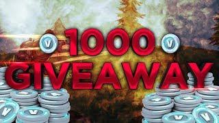 KONKURS 1000 V-DOLCE V-BUCKS FOR 500 SUBÓW DAILY FORTNITE #37