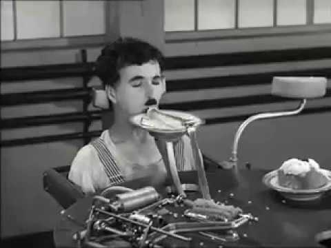 Charlie champlin and eating machine comedy video