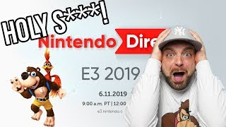 Nintendo Direct E3 2019 REACTION - Best Direct EVER?