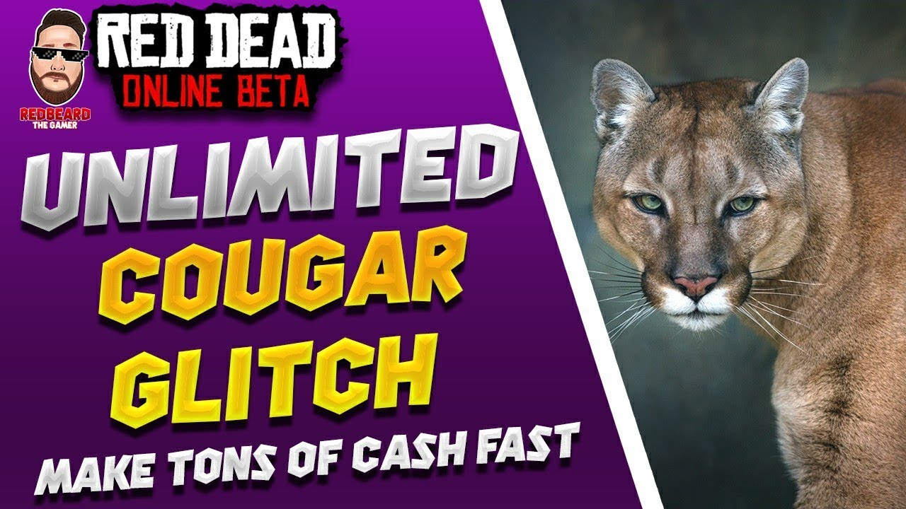 💰Unlimited Cougar Money Glitch💰 in Red Dead Online (XP, GLITCH, UPDATE) Red Dead Redemption 2