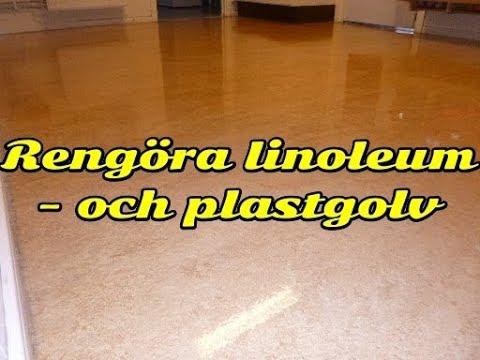 rengöring plastgolv badrum