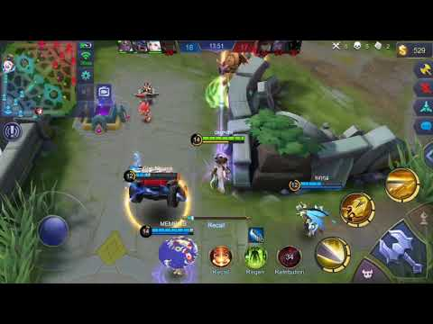 Try Hard For Victory ( Rip My Fanny )| Fanny Gameplay | Fanny Mobile Legend Bang - Bang