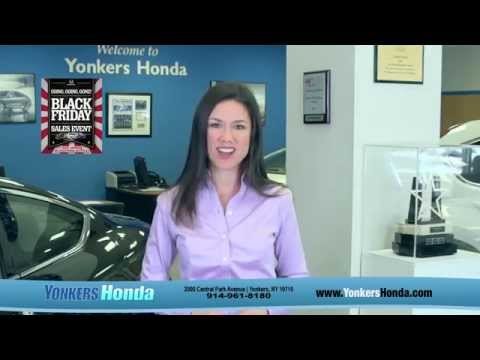 Black Friday Sale at Yonkers Honda Going on NOW!