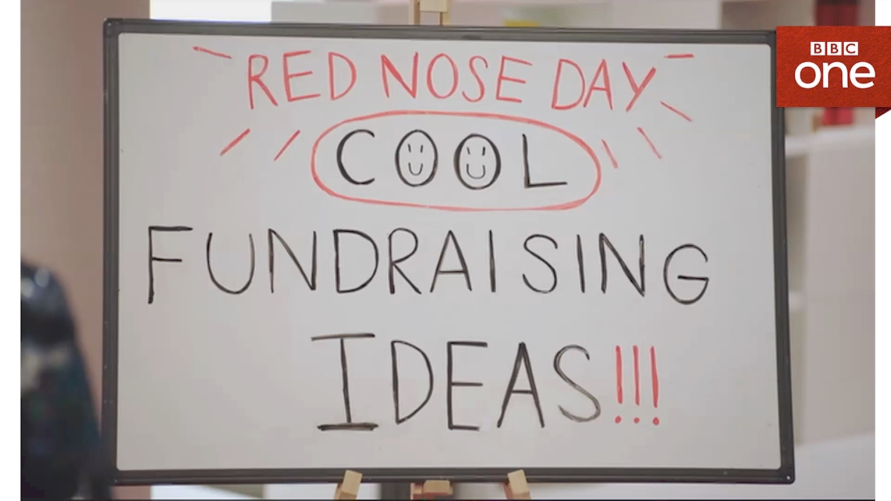 red nose day 'cool' fundraising ideas: comic relief fundraising