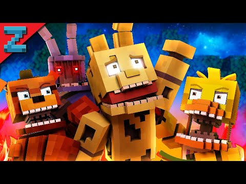 """Don't Forget"" Minecraft FNAF Animation Music Video (Song by TryHardNinja) The Foxy Song 3"
