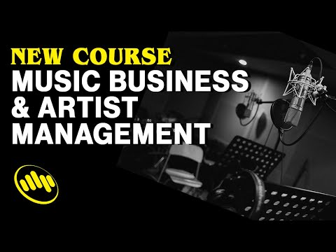 Introducing Music Business and Artist Management Course!