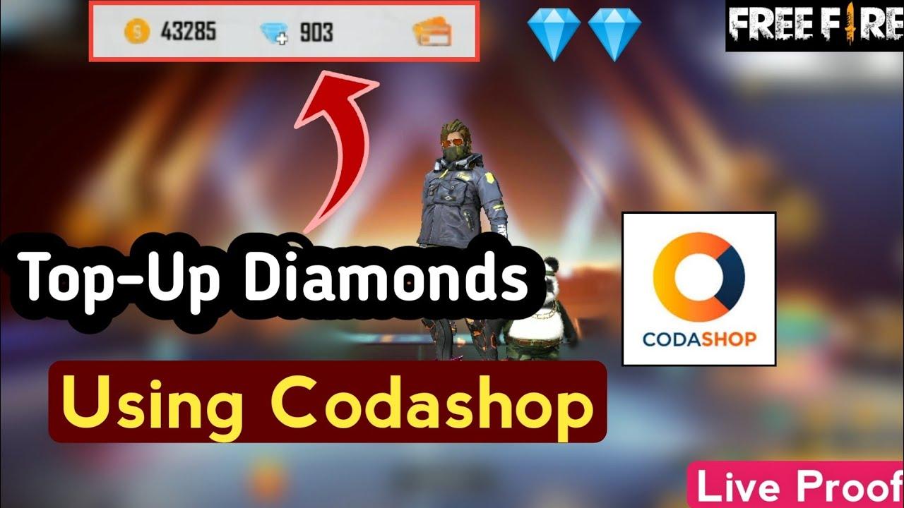 How To Buy Free Fire Diamonds Using Codashop || Top-Up Diamonds In Free  Fire Using Codashop