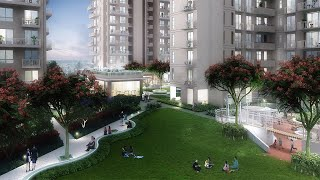 Enjoy living at Sovereign Park with 360 degree views & direct access from Dwarka Eway