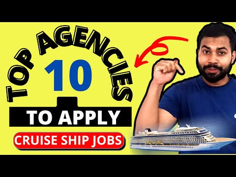 Top 10 Agencies to apply Cruise Ship Jobs 2021 || All Government Approved