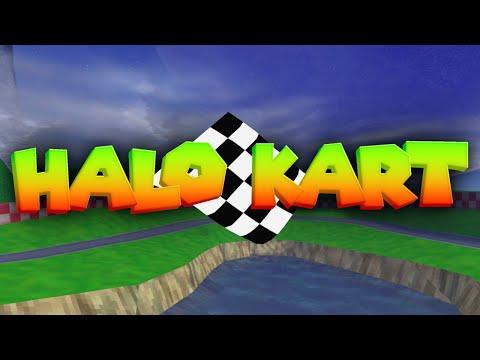Halo Except It's Mario Kart