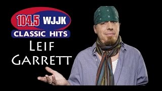 Leif Garrett performs in the WJJK Acoustic Lounge