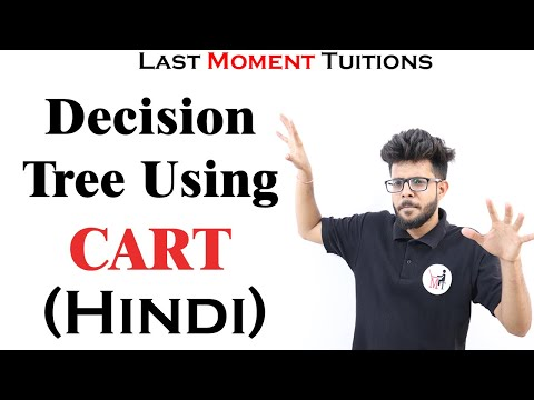 Decision Tree  Solved Example Using CART  Model In Hindi | Data Mining | Machine Learning | AI