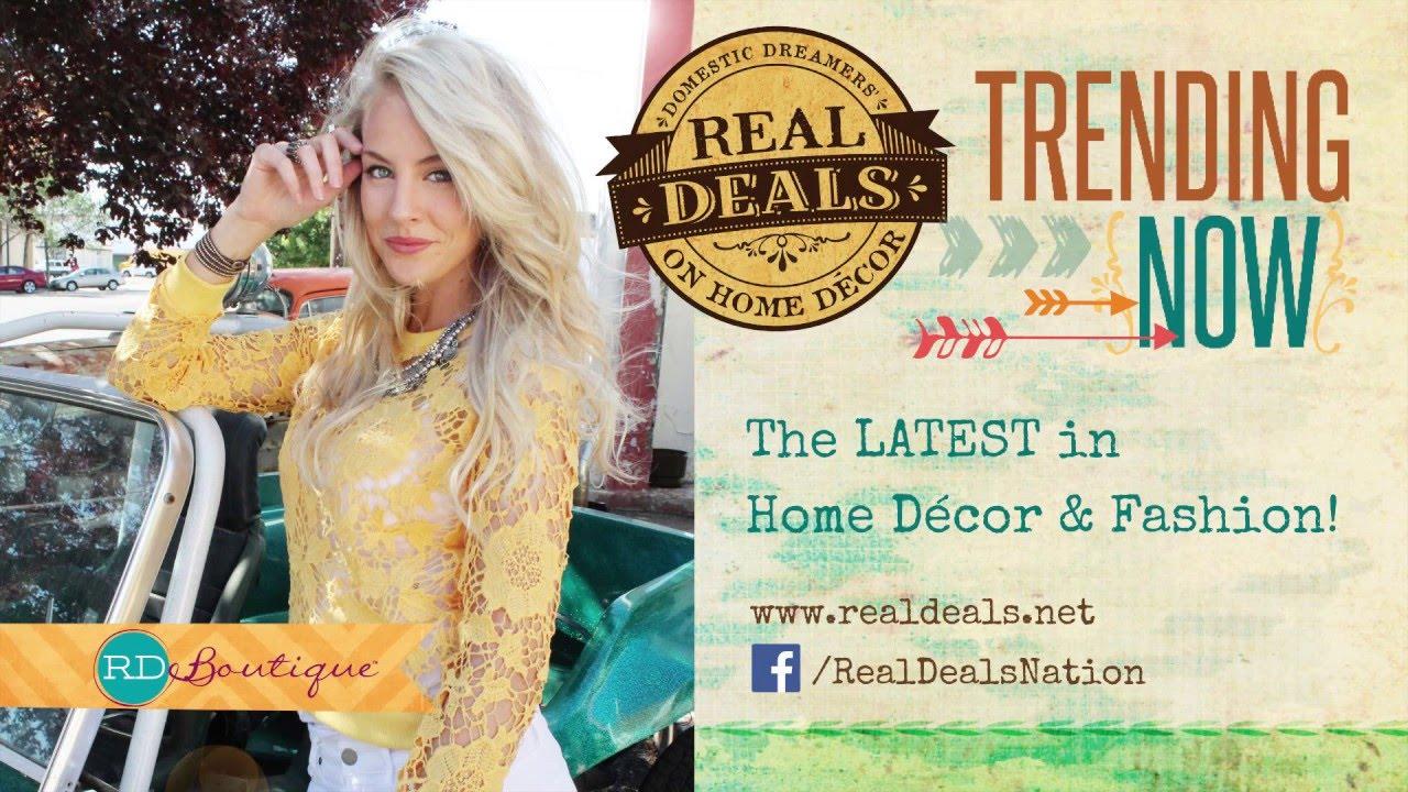 Real Deals On Home Décor Boutique