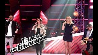 """Треньорите в """"Гласът на България"""" зарадваха публиката с обща песен"""