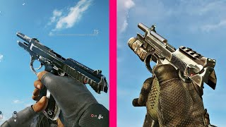 Rainbow Six Siege vs Call of Duty Ghosts - All Weapons Comparison