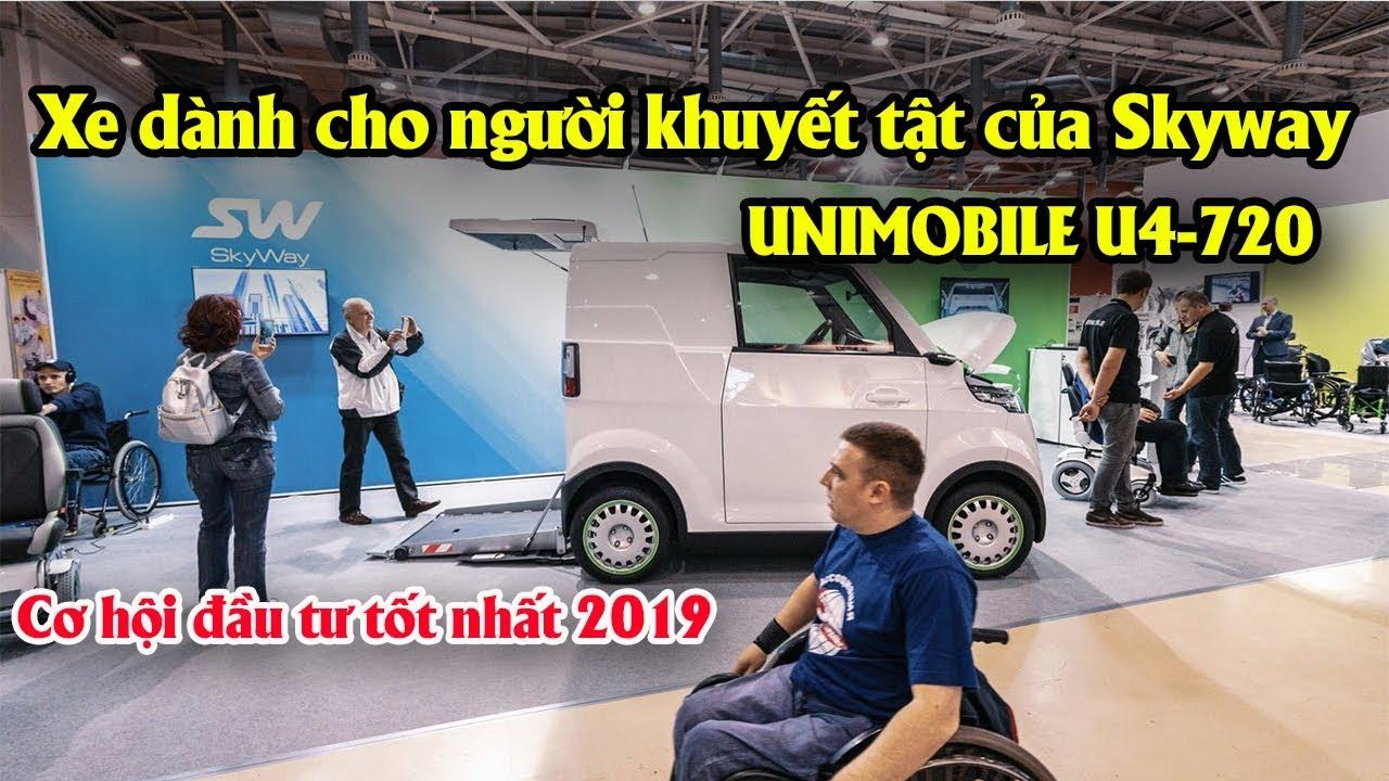 Xe dành cho người khuyến tật của Skyway UNIMOBILE U4-720 | Cơ hội đầu tư tốt nhất 2019