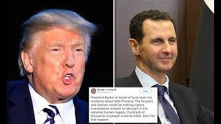 Trump warns Assad about attacking refugees in Syrian province - Daily News