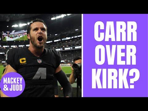 Why is Derek Carr more clutch than Kirk Cousins?