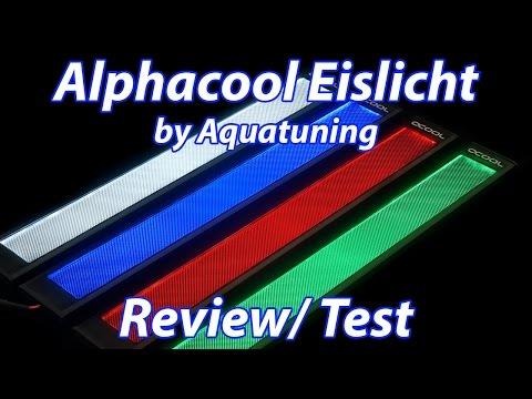 hot sale online 5503d 15f47 *NEU* Aquatuning - Alphacool Eislicht - LED Panel Beleuchtung - Review/  kurz Test